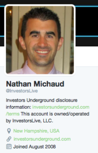 Investors Underground CEO Nathan Michaud